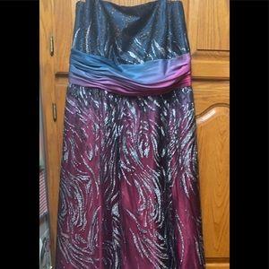 Multi prom dress